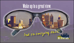 Hillstreet Lofts Consumer Postcard Direct Mail Front Postcard Design by Marketing Results Atlanta
