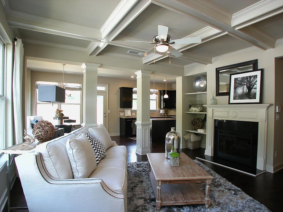 Livingroom 1200 White Oak Sample Living Room