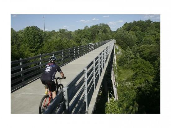 Silver Comet Trail-Biking