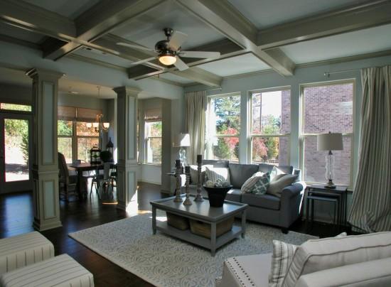 Highland Park model living room