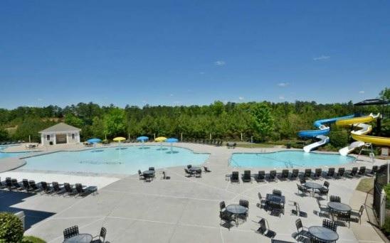 Pool at river green