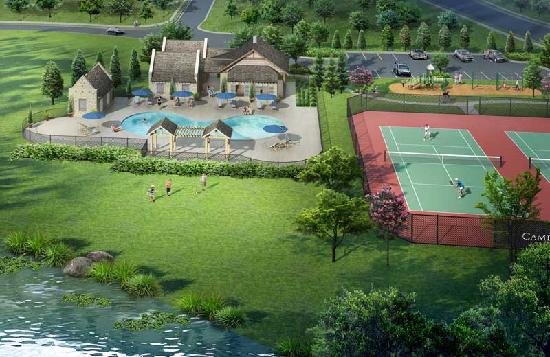 amenities rendering