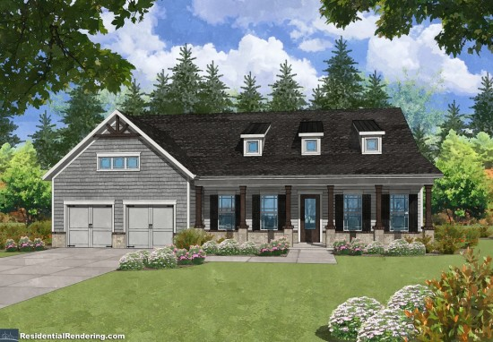 Blueridge rendering
