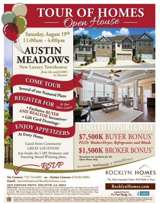 Austin Meadows Open house